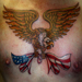Eagle and Flag Tattoo Design Thumbnail